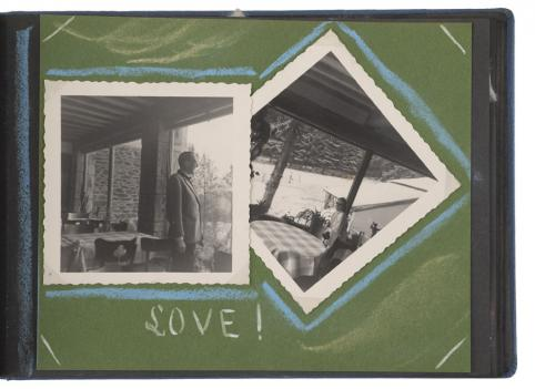Anonyme, Poupousse à la neige, Album de famille, Années 1960, © musée Nicéphore Niépce