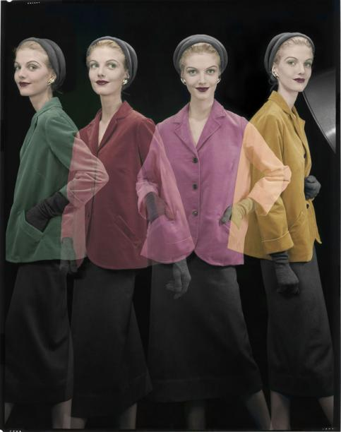 Erwin Blumenfeld A shake in young fashion  Pour la couverture de Vogue US, 1er août 1953 © The Estate of Erwin Blumenfeld, collection Henry et Yorick Blumenfeld