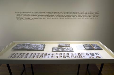 Albums de famille, vue de l'exposition