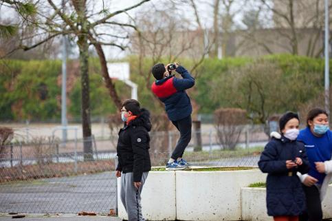 © Julien Piffaut / Ville de Chalon-sur-Saône - école Anne Frank classe CM2.