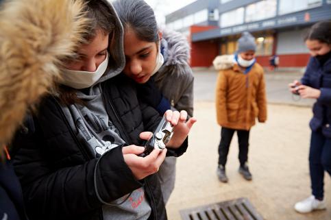 © Julien Piffaut / Ville de Chalon-sur-Saône - école Anne Frank classe CM2